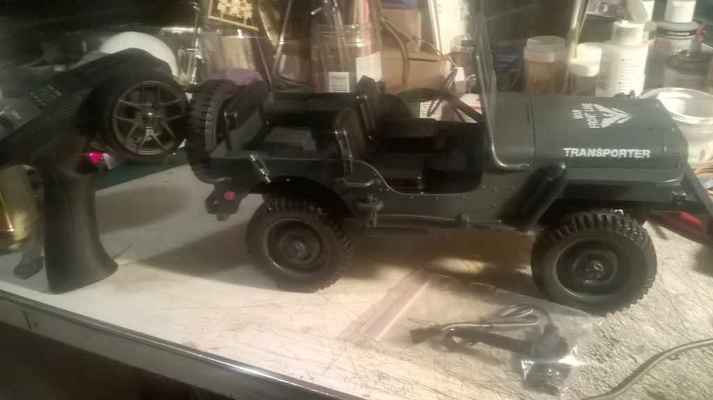1/10 RC Jeep $60.73 CAD Wp_20148