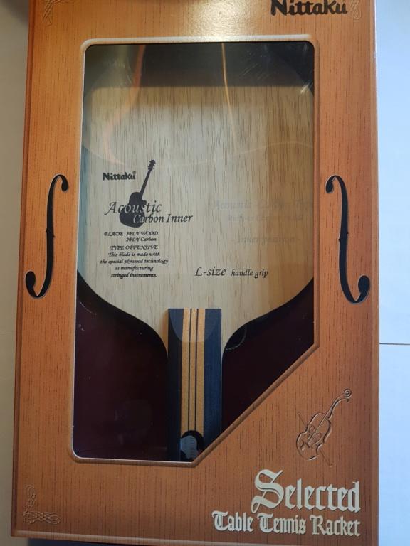 Nittaku Acoustic Carbon Inner LH tbétat N310