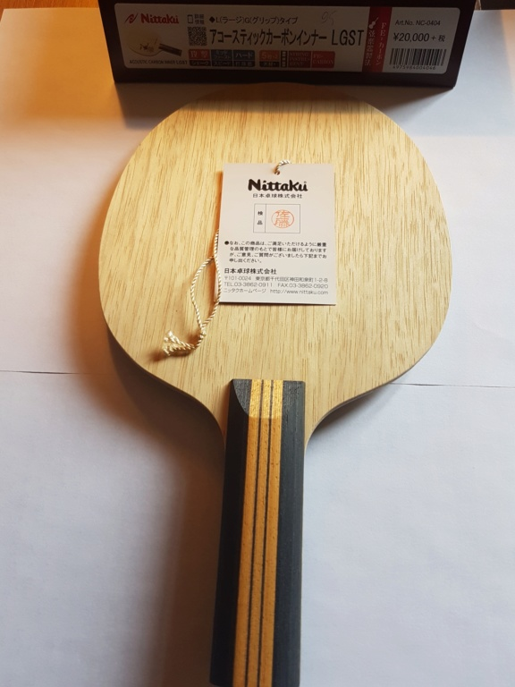 Nittaku Acoustic Carbon Inner LH tbétat N410