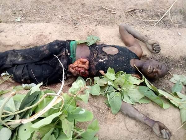 Fulani Herdsmen Attack Kajuru LGA In Kaduna Today, Kill Many (Disturbing Photos)  89627510