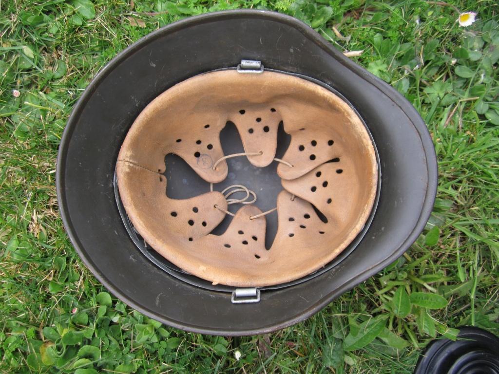 Casque Allemand camouflé ( ajout de photos ) Img_2624
