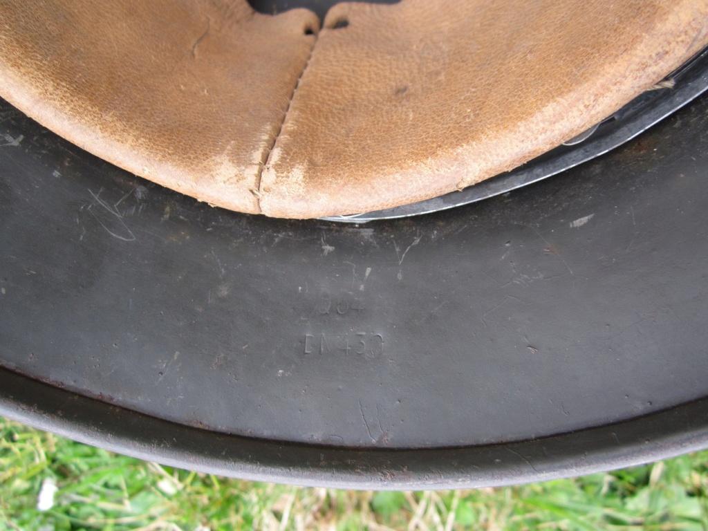 Casque Allemand camouflé ( ajout de photos ) Img_2625