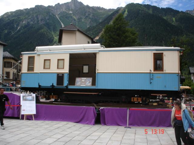 Automotrice Z 200 Ligne Le Fayet-Vallorcine echelle 1/22eme Dsc05710