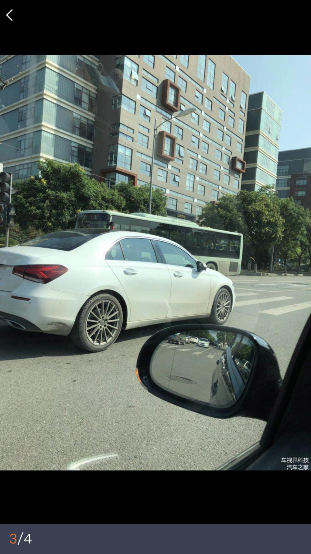 2018 - [Mercedes-Benz] Classe A Sedan - Page 5 16b29710