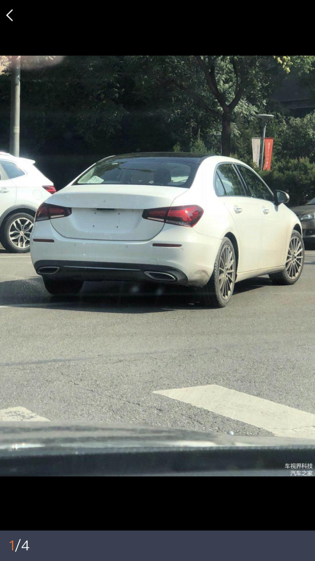 2018 - [Mercedes-Benz] Classe A Sedan - Page 5 23da1c10