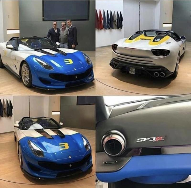 [Ferrari] Modèles uniques / One Off - MàJ : F12 TRS - Page 7 41816310