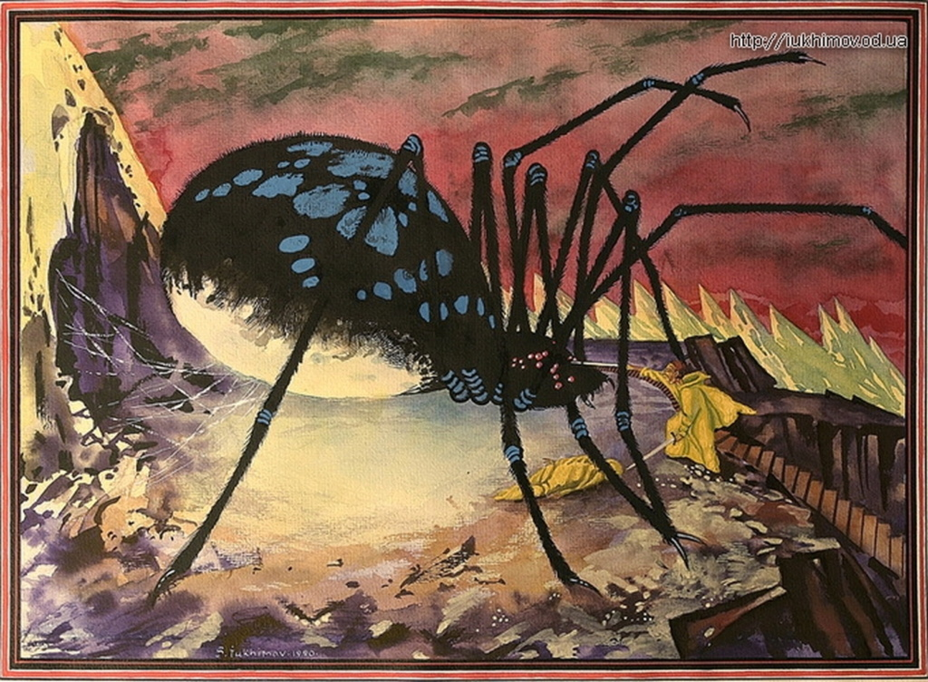 Artwork inspired by Tolkien - Page 29 Shelob10