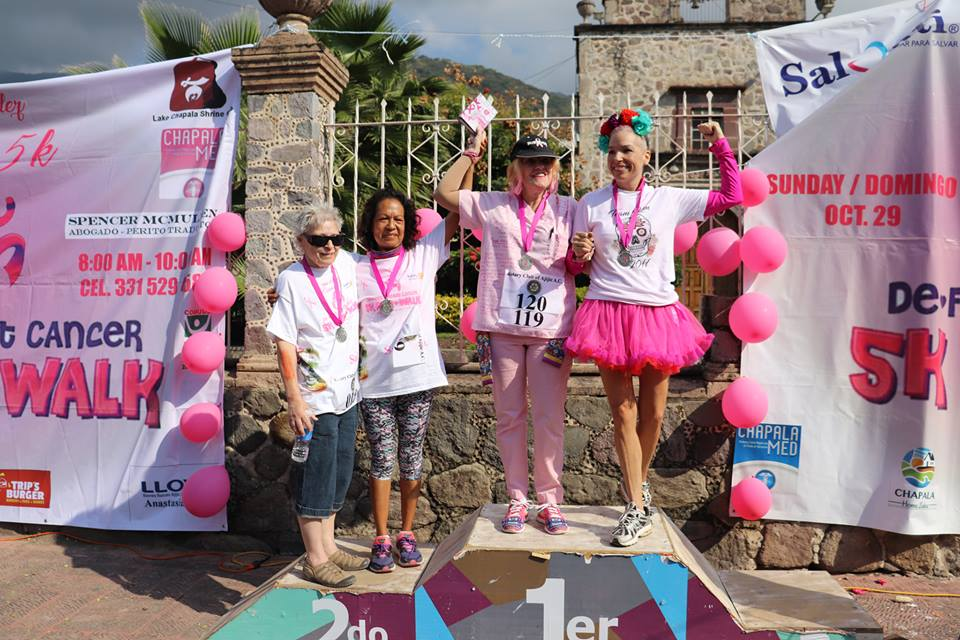 5K against Breast Cancer, 2nd Annual Rotary Club of Ajijic  23032410