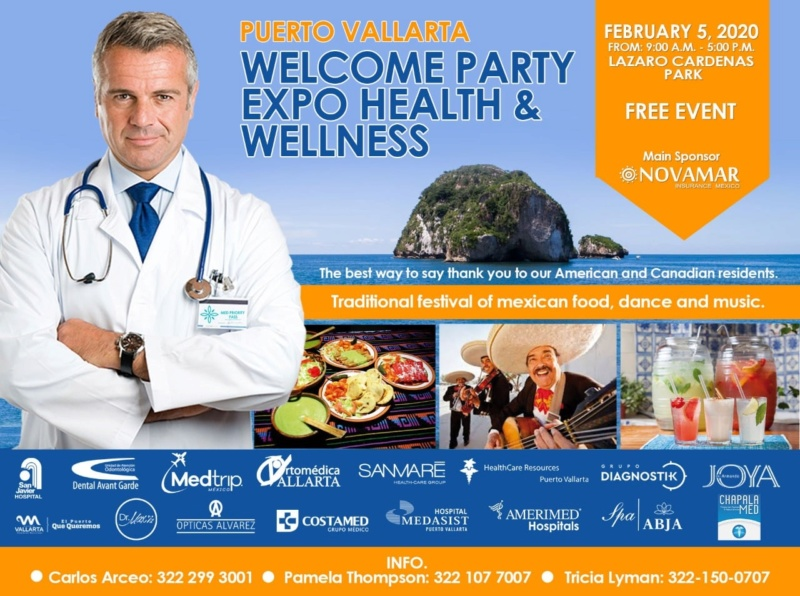 HEALTH EXPO in PV - WELCOME EVENT for EXPAT community in PV & Jalisco  75446710
