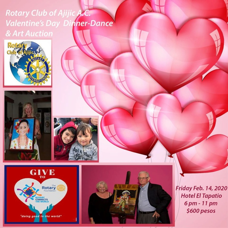 Valentine's Day Community Projects fundraiser.  RCOA  82162510