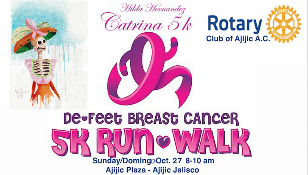 5K to De-Feet Breast Cancer, 3rd annual Catrin10