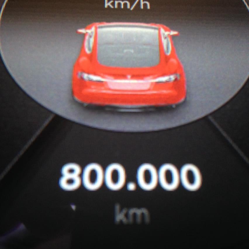 Bientôt le million ! 800mkm10