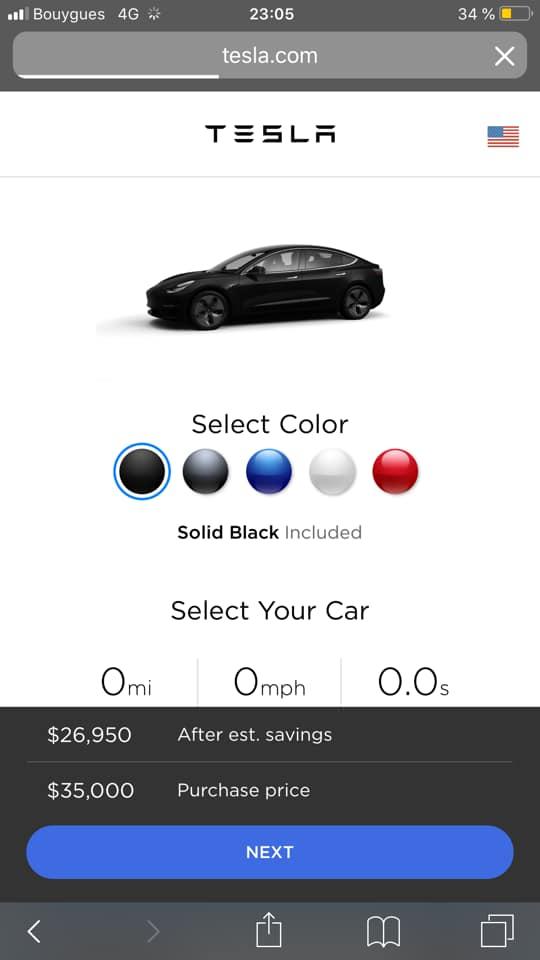 Tesla : la model 3 dévoilée Voilou10
