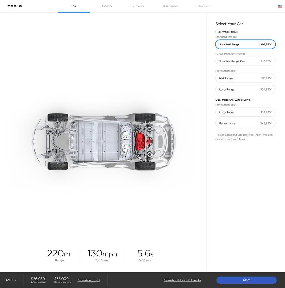 Tesla : la model 3 dévoilée Voilou11