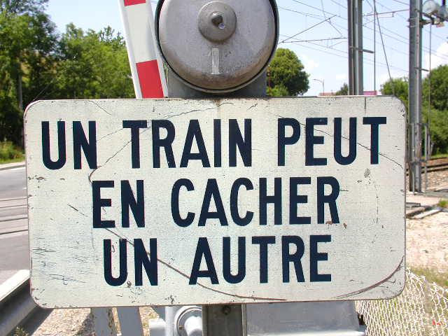 vous savez ce qu'on dit sur les train ? Un-tra10