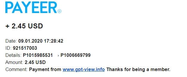 GPT-VIEW -FREE PREMIUM 1 MJESEC- INSTANT ISPLATE!!! Gtpvie11