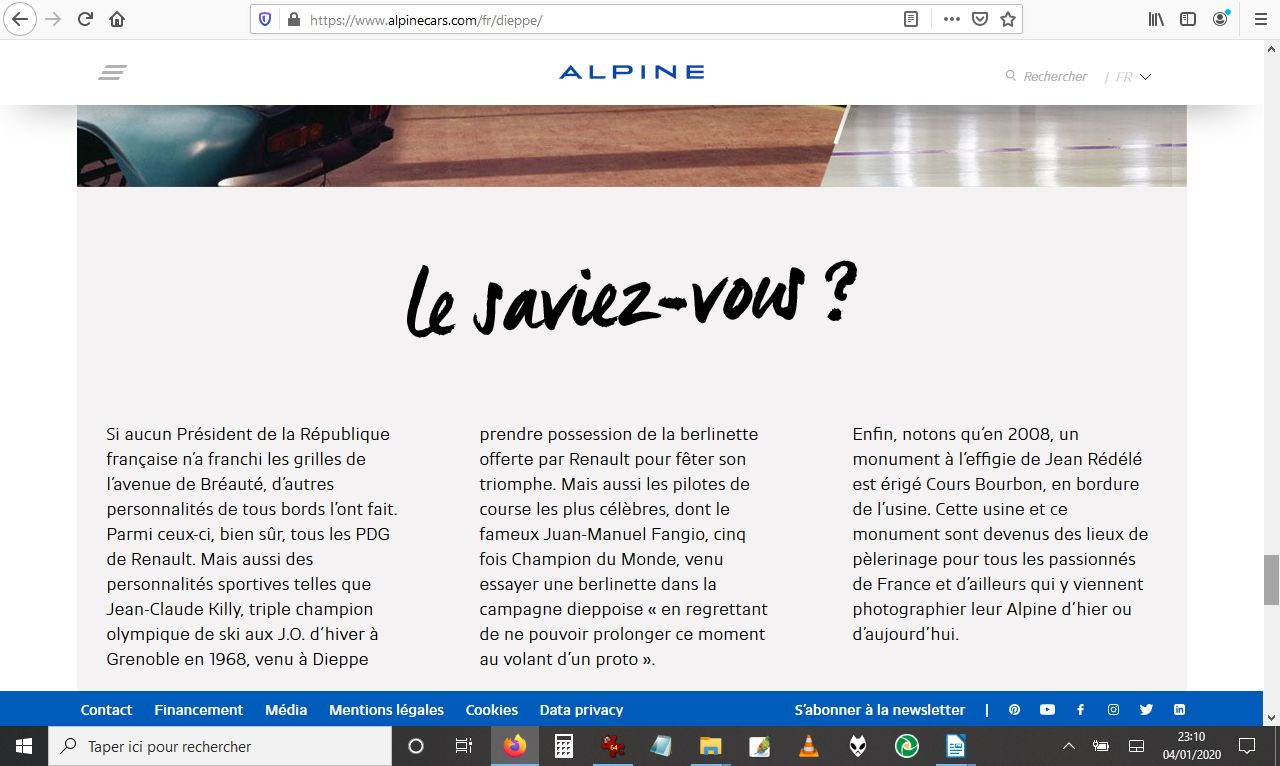 2017 - [Alpine] A110 [AS1] - Page 28 Alpine24