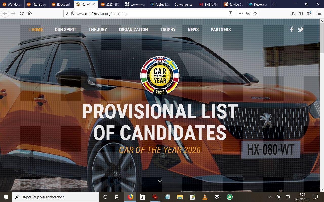 [Election] Voiture de l'année 2020  Candi211