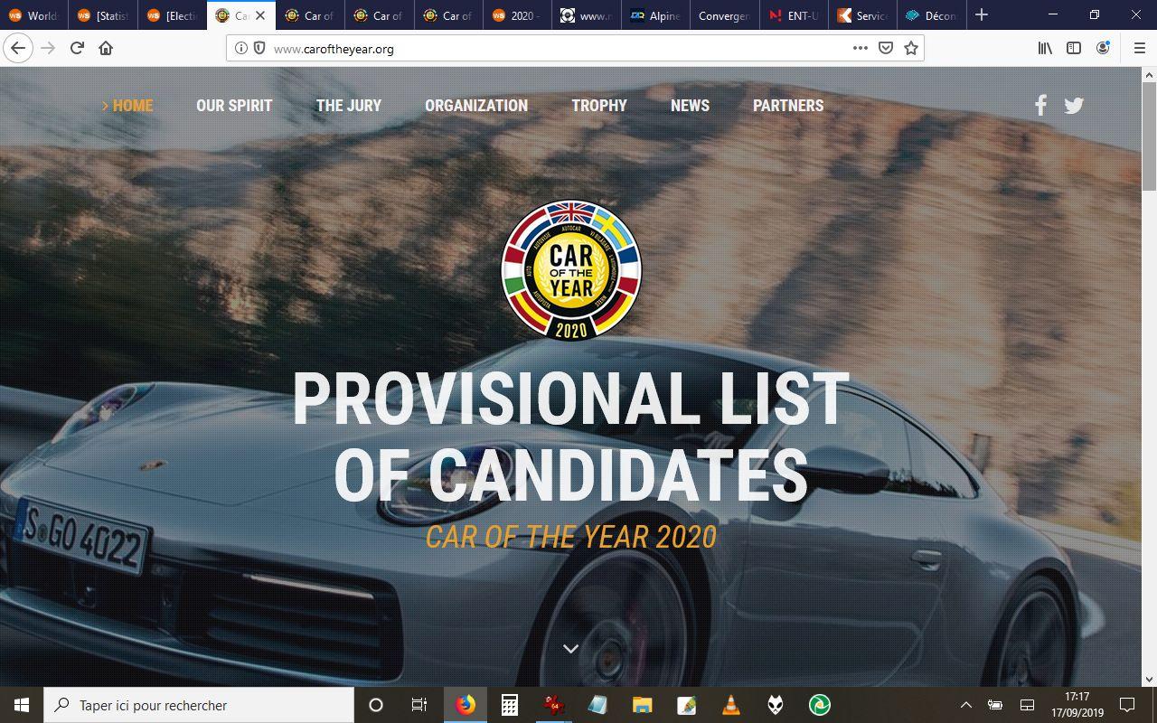 [Election] Voiture de l'année 2020  Candi910