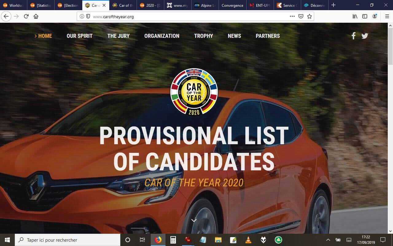 [Election] Voiture de l'année 2020  Candic10