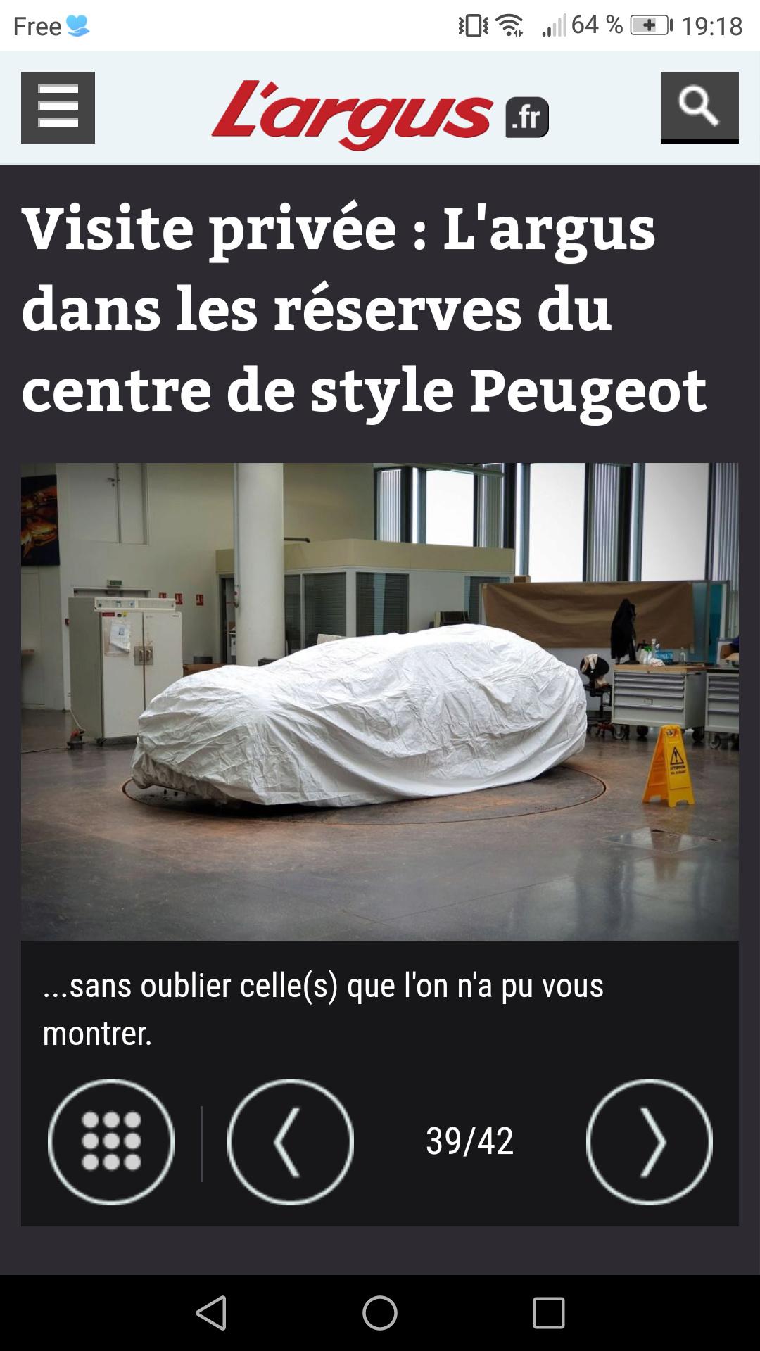 2018 - [Peugeot] e-Legend Concept - Page 17 Screen27