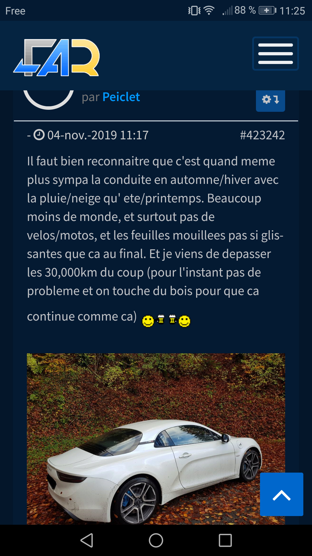 2017 - [Alpine] A110 [AS1] - Page 22 Screen37