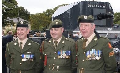 Irish cavalry Corps glengarry 33ba1310