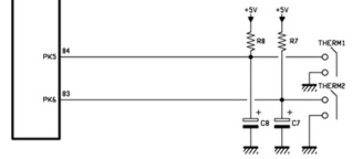 problème de température d'extrudeur K8203 suite court circuit CTN Thermk10