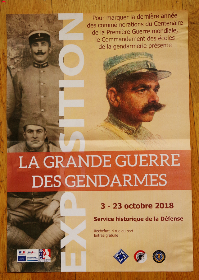 L'histoire, «La Grande Guerre des Gendarmes» 116