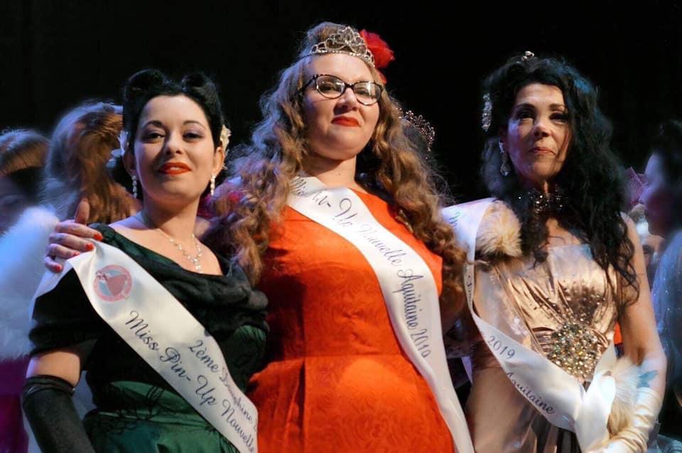 Miss Pin-up Nouvelle Aquitaine est Rochefortaise! 62261310