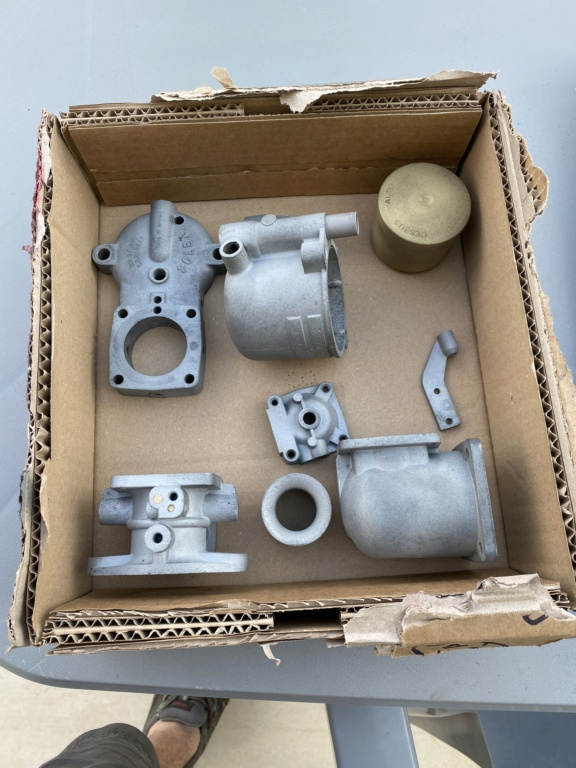Restauration carburateur Solex VAFD 20956810