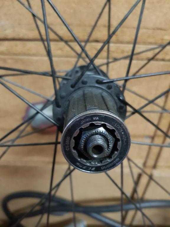 Extraction d'une roue libre avec cassette Maillard 6v 16147912