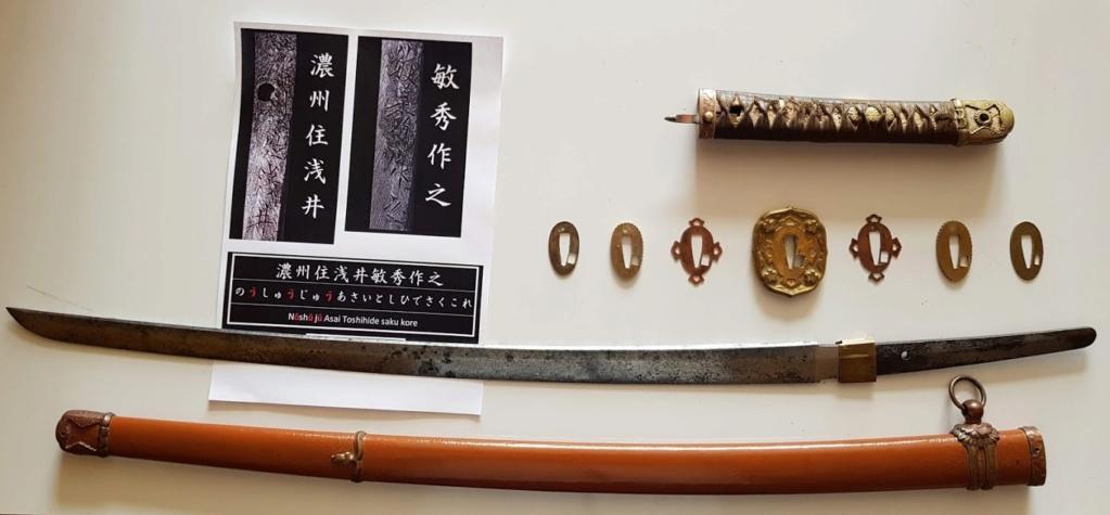 Identification marquage shin gunto Sabre210