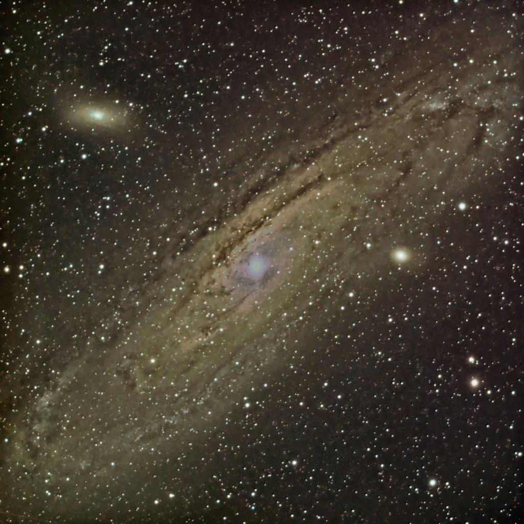 M31 en mode boulette !!! ... nouvelle image M31_pi10
