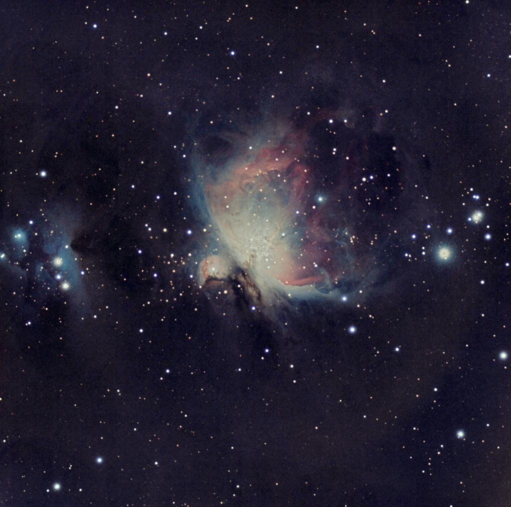 M42 : ma première photo CP à la cam astro : ZWO ASI533MC M42_pi10