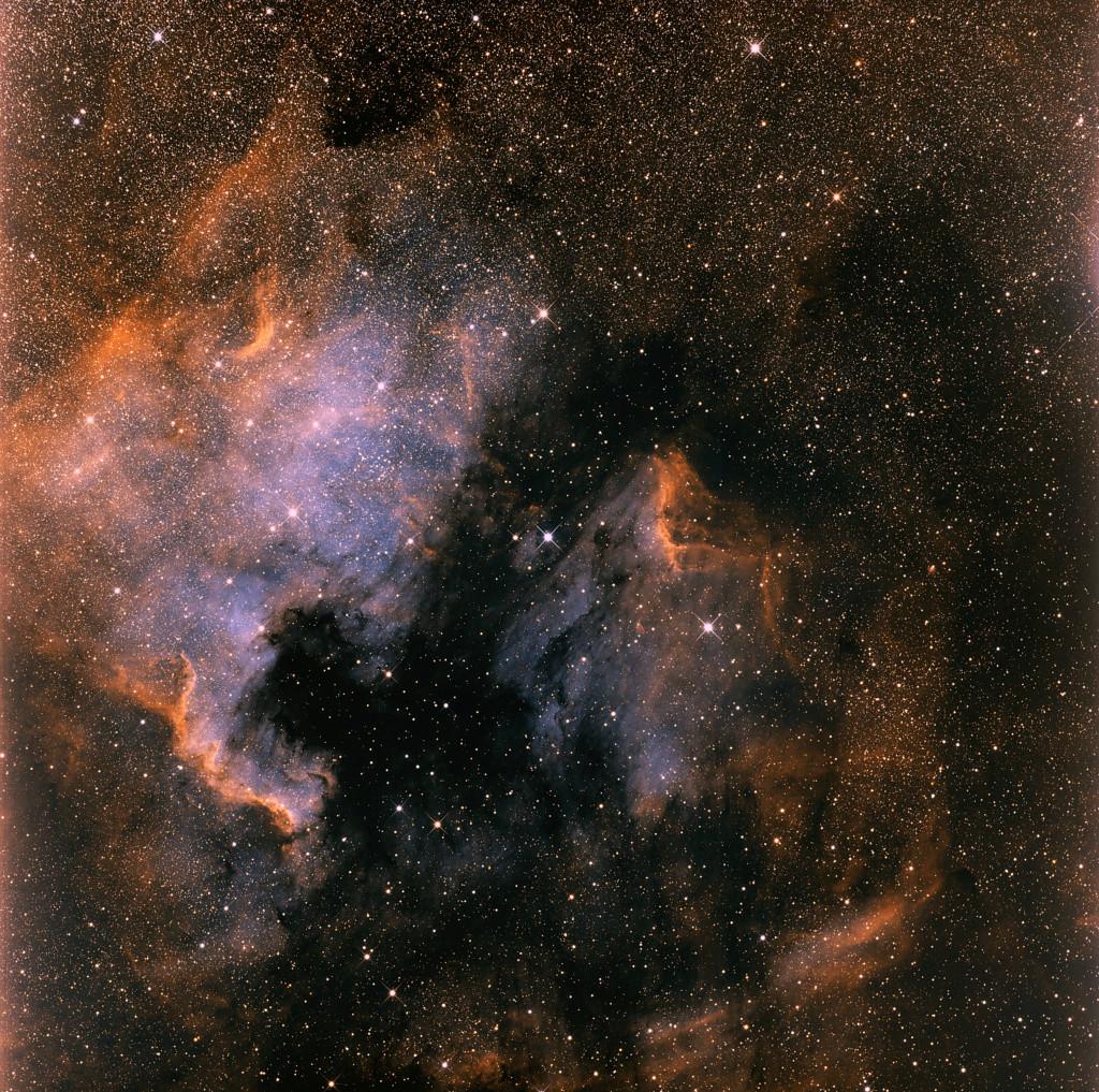 NGC7000 et IC5070 en HOO et SHO Sho_bi10