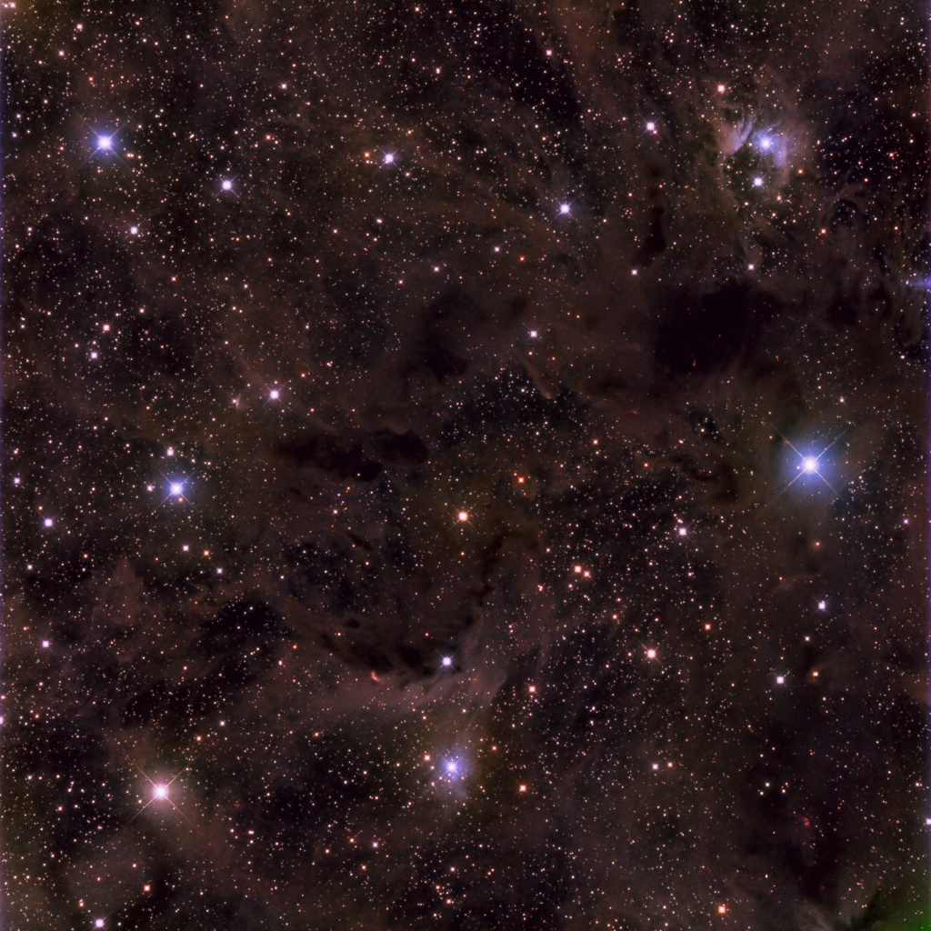 SH2-224 Imagée au Alentejo Remote Observatory Portugal Vdb_1310