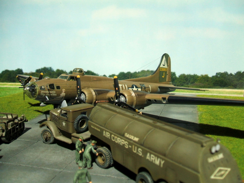"""Diorama USAAF """"Target for today"""" terminé. - Page 4 9210"""