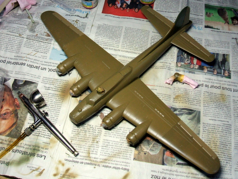 """Diorama USAAF """"Target for today"""" terminé. Dscf4814"""