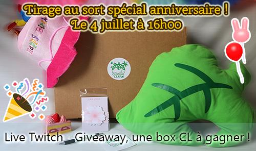 [Live Twitch] Tirage au sort spécial anniversaire !  Giveaw10