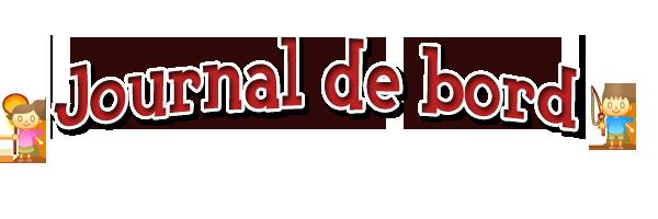 Présentation de la partie Journal de bord Journa11