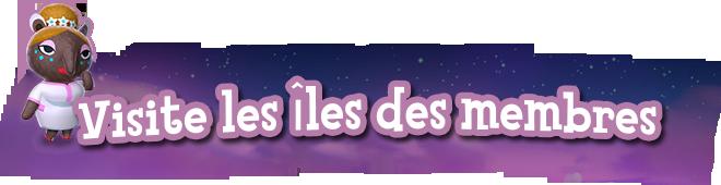 ▼ Les îles des membres ▼ Rzoves10