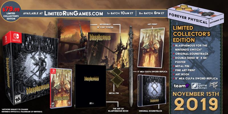 Blasphemous: Dark and brutal 2D non linear platformer Mockup11