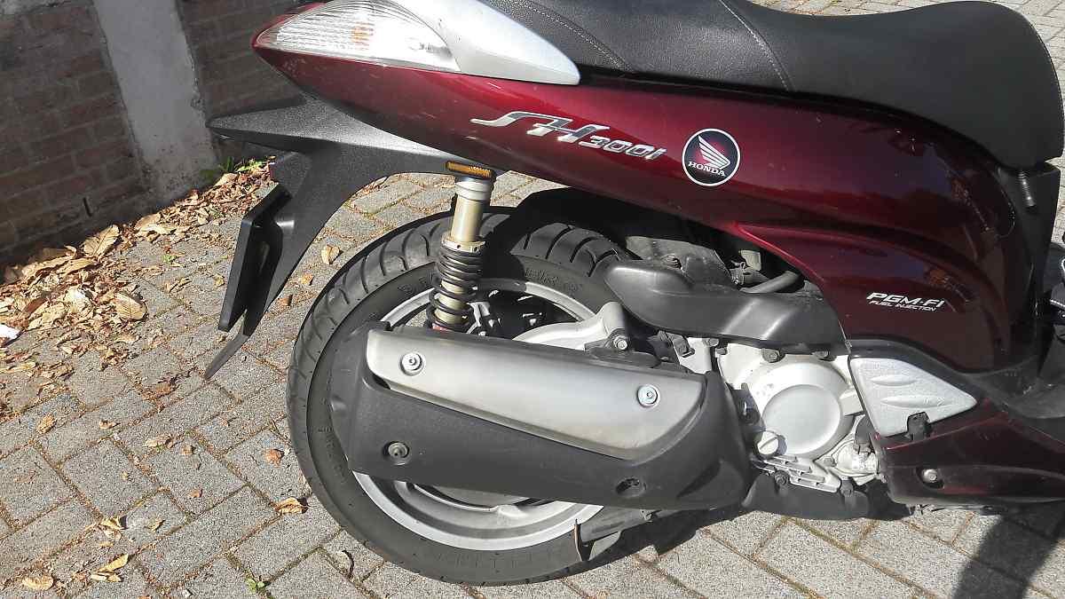 Honda SH300i ABS, 2007, 2e proprio, 55.600km 20190912