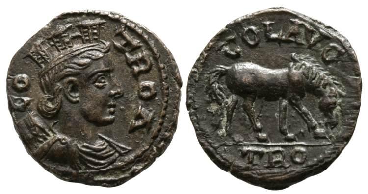 Bronze d'Alexandria Troas. Bmc_4810