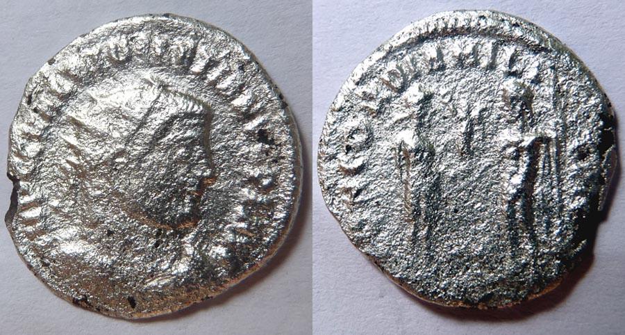 Monnaie fourée pour Dioclétien Dioclz10