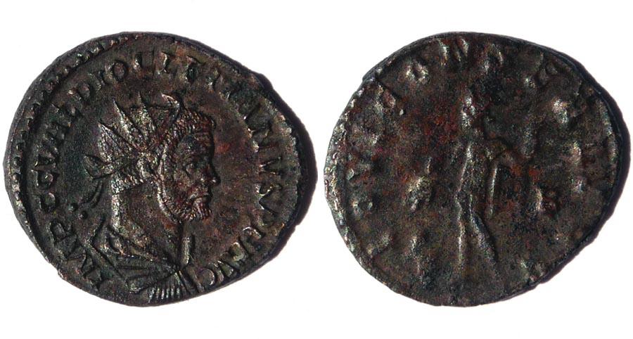 Aurélianus de Dioclétien, un nettoyage raté! Dioclz13