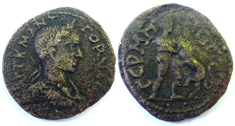 Une monnaie provinciale Hercul10