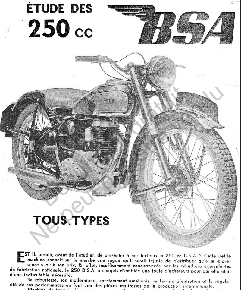 questions BSA C11 Captur46