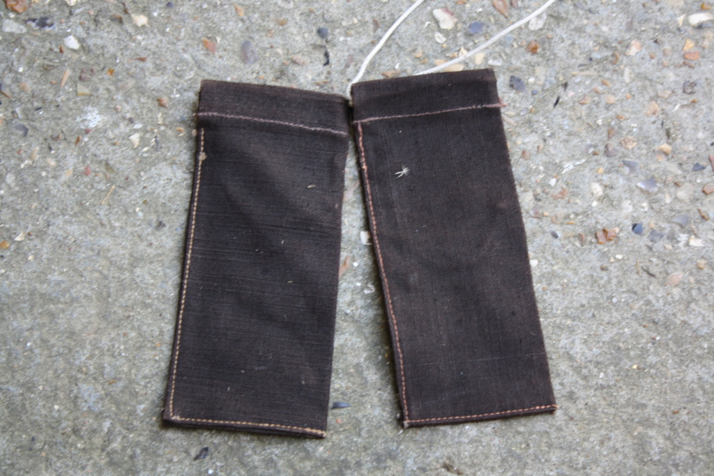 Petit sac toile avec tampon militaire Img_4610